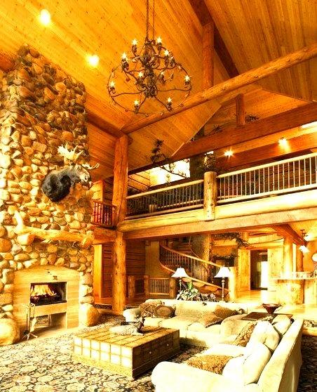 Morgan Cabin Family Room